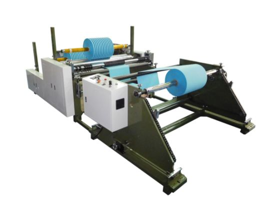 Paper Slitting and Rewinding Machine for Paper Hangdles