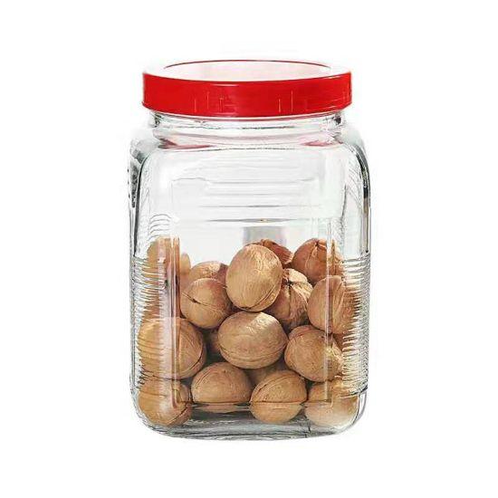 Sealed Glass Jar Dried Fruit Snacks Glass Storage Jar