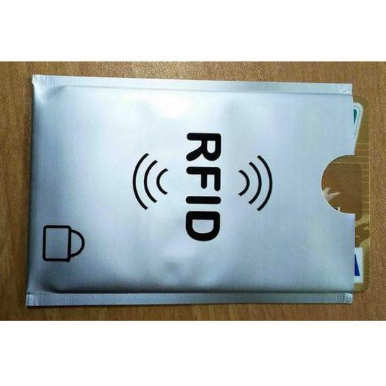 20 RFID Card Sleeve Wallet Blocking Protector Debit Credit Contactless Wholesale
