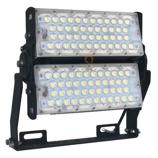 160lm/W Adjustable Waterproof IP66 LED Projector High Mast Tunnel Flood Light for Outdoor Stadium Lighting 100W 200W 300W 400W 600W 800W 1000W 1200W 1500W