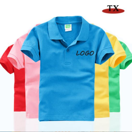 High Quality Children's T-Shirt for Blouse and Polo Dress Shirts