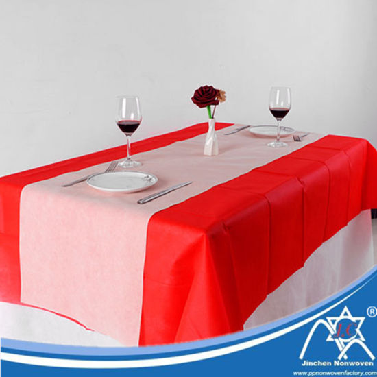 Customized Non Woven Disposable Restaurant Table Cloth pictures & photos