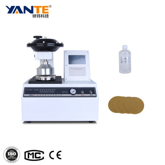 Yt-Npy1600q Paper Bursting Strength Test Machine Lab Equipment