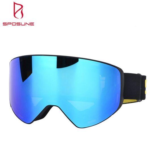 TPU Frame Prescription Outdoor Sports Safety Goggle Eye Protection Snowboard Ski Goggles