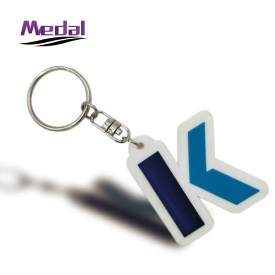 Promotion Custom 2D 3D Rubber Soft PVC Keychain
