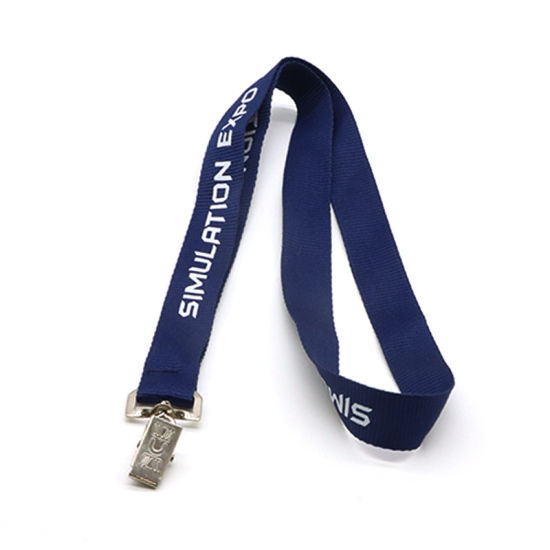 Promotional Custom Printed ID Card Lanyard Polyester Lanyard pictures & photos