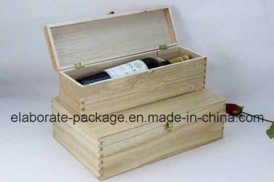 Lacquered Real Wood Wine Storage Gift Box/Case