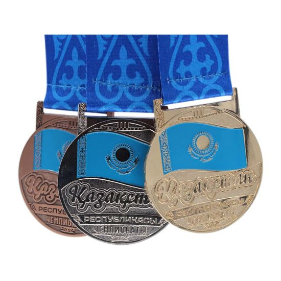 Best Quality Antique Make Your Own 3D Medal with Ribbon pictures & photos