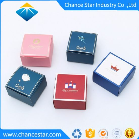 Custom Folding Printed Small Paper Cosmetics Packing Boxes