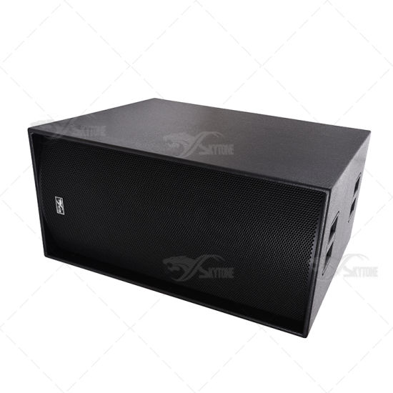 China Suppliers Cheap Price Pop Sound Box Ts218 Dual 18 Inch pictures & photos
