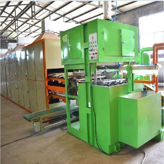 Fruit/ Egg Tray Plate Making Forming Packaging Producing Manufacturing Production Line