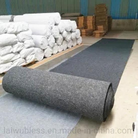 China Absorbent Oil Waterproof Needle Punch Garage Carpet Garage