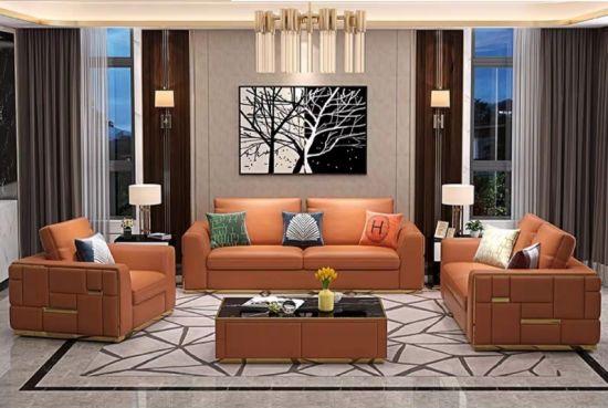 Living Room Furniture Fabric Sofa Set, Modern Living Room Furnitures