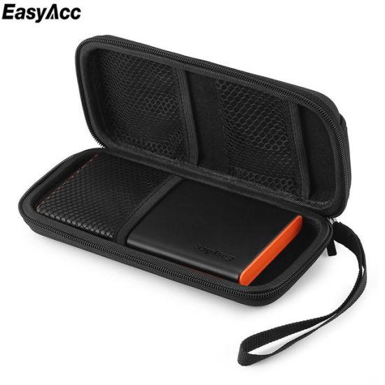 Powerbank Case EVA Pouch Case for for Anker Rock Pisen Baseus External Battery Case Portable Customized Travel Pounch