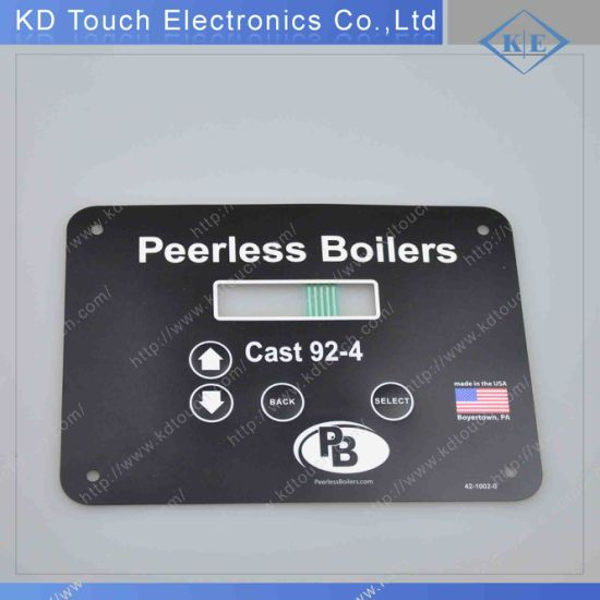 Push Button Embossing Tactile Membrane Keypad for Boiler
