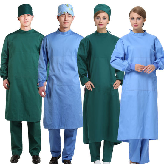 AAMI Level 2 Disposable Non-Sterile SMS Surgical Gown