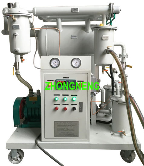 Single Stage Vacuum Aged Transformer Oil Purifier Zy with ISO9001 and Ce