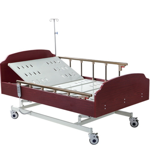 Aluminum Alloy Guardrail Nursing Medical Bed Adjustable Bed Medical Bed with Three Functions BS-830