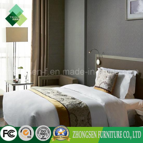 India Modern Style Teak Whole Hotel Furnitur Bedroom Set Zstf 19