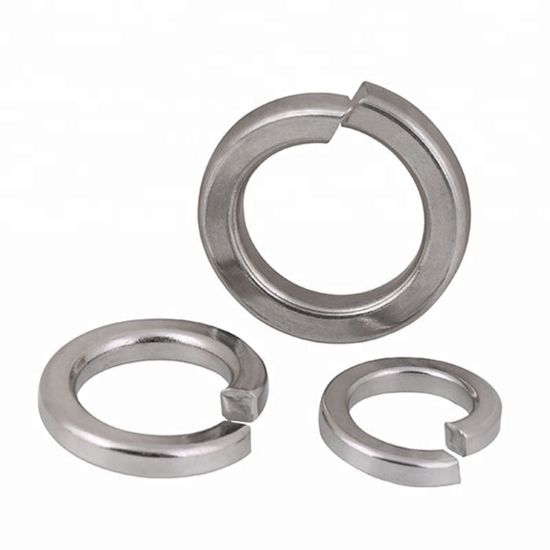 DIN127 Stainless Steel 304 M2-M36 Single Coil Spring Lock Washer pictures & photos