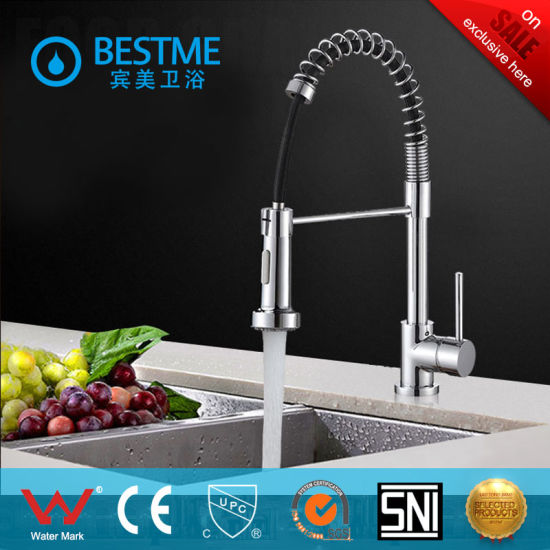 Kitchen Faucet Outlet   China Two Fuctions Water Outlet Kitchen Sink Faucet With Spray Bf