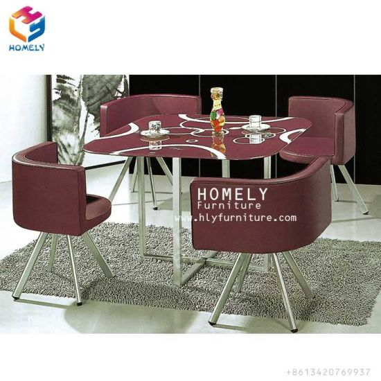 Outstanding Modern Glass Top Steel Frame Dining Table Sets With Chairs Uwap Interior Chair Design Uwaporg