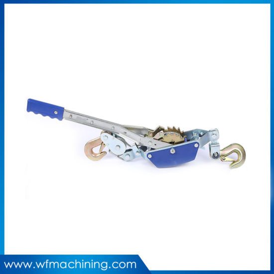 Customized Cable Grips Hand Operate Ratchet Cable Puller Machine Wire Rope Tightener
