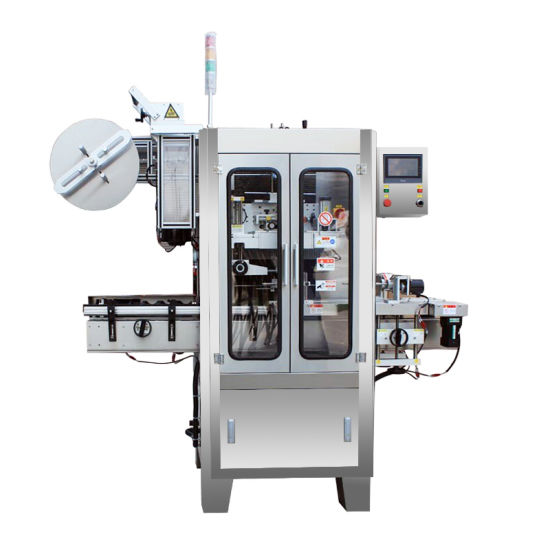High Efficiency Advanced Automatic Glass Bottles Shrink Sleeve Labeling Machine pictures & photos