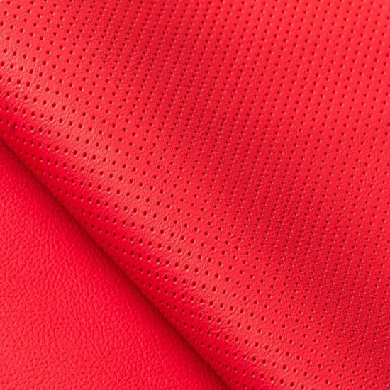 Perforation Anti-Scratching PU PVC Synthetic Leather for Car Seat
