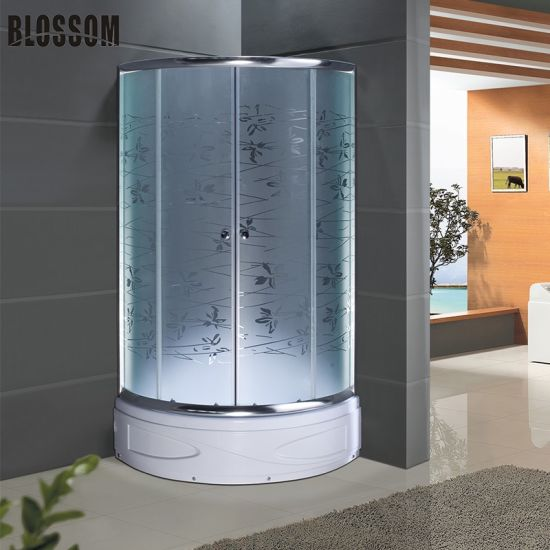Shower Cabin With Frosted Gl