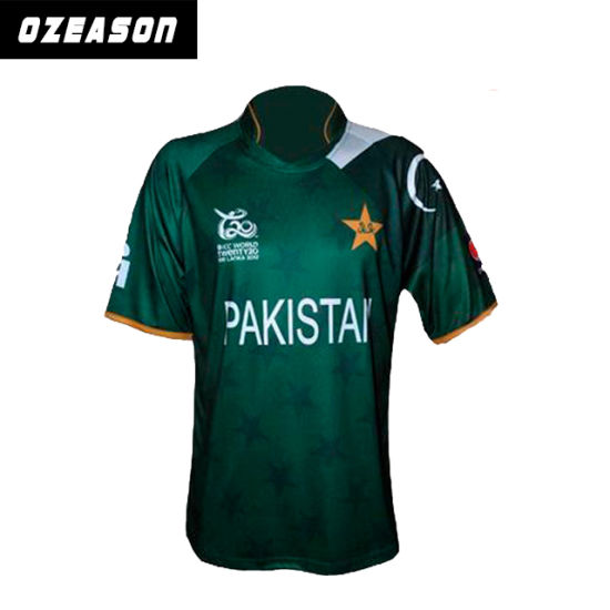 c8a60d823ab China Factory Wholesale Cheap Custom Cricket Jerseys (CR006) - China ...