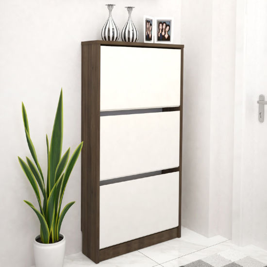 Hot Sale Home Furniture Shoe Cabinet Wood Modern Shoe Rack Living Room