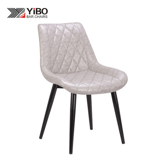 Wholesales Fashionable Metal Leisure Dining Chairs Iron Legs