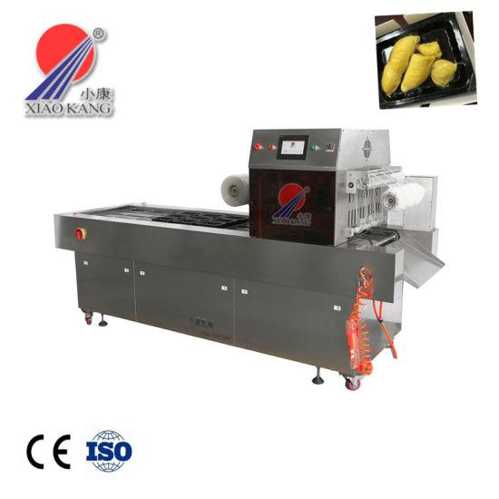 Dh-Lzt Automatic Vacuum Skin Packaging Machine for Seafood Shrimp Salmon Tuna Tilapia