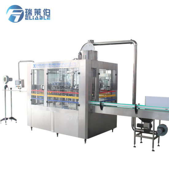 Automatic Bottled Fruit Juice Beverage Filling Equipment / Bottling Machine pictures & photos