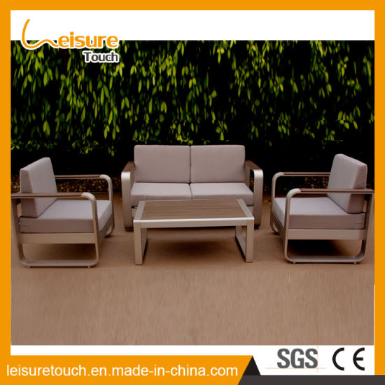 7f1c50e4fac9 All Weather Modern Home Hotel Aluminum Table and Chair Leisure Lounge Patio  Sofa Set Outdoor Garden