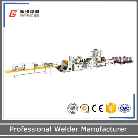 Gwc-C Special Fully-Automatic Steel Bar Mesh Welding Production Line