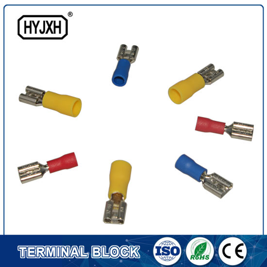 FDD Series Solderless Electrical Brass Wire Terminal