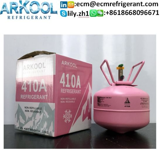 Mixed R404A R407c R410A Refrigerant Gas R22 R134A R1234yf Factory Price pictures & photos