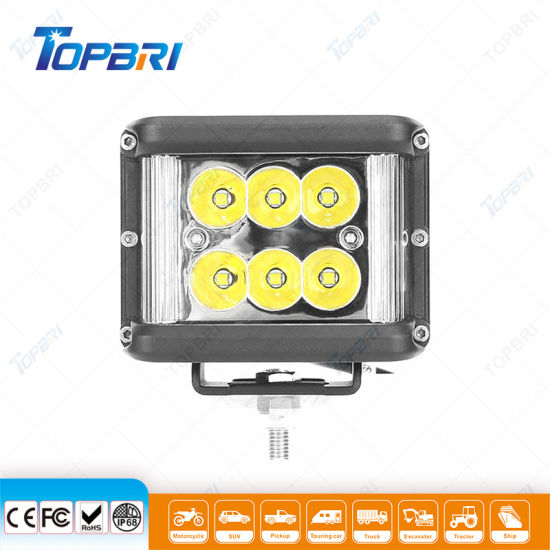 60W Automobile Lighting 4X4 LED Auto Car Lights for Offroad