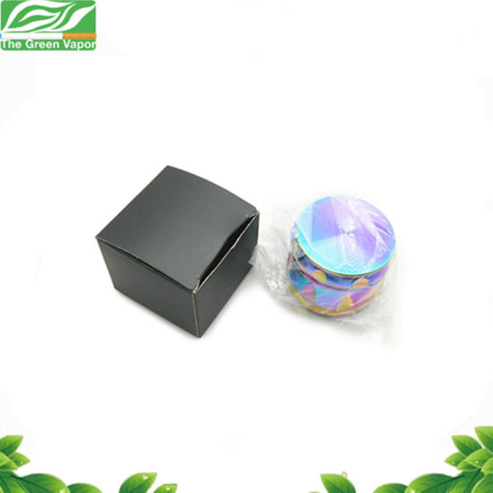 Grinding Mill 63mm 4 Layers Zinc Alloy Rainbow Grinders Drum Shape Herb Grinder pictures & photos