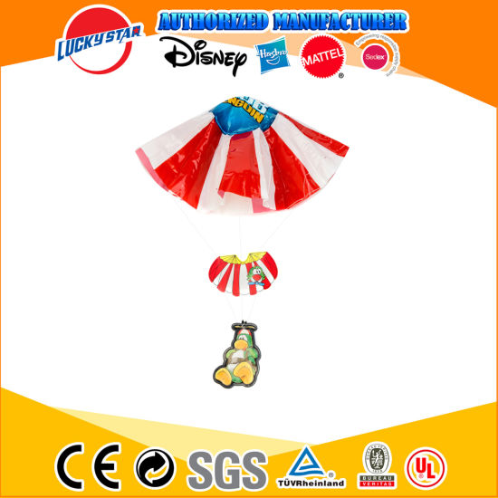 Hot Sale Funny Penguin Parachute Plastic Toy for Kid Promotion