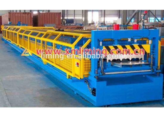 Xiamen Liming 2018 Worm Decking Roll Forming Machine