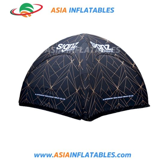 Dome Inflatable Spider Tent Made of Strong Fire-Proof Cloth