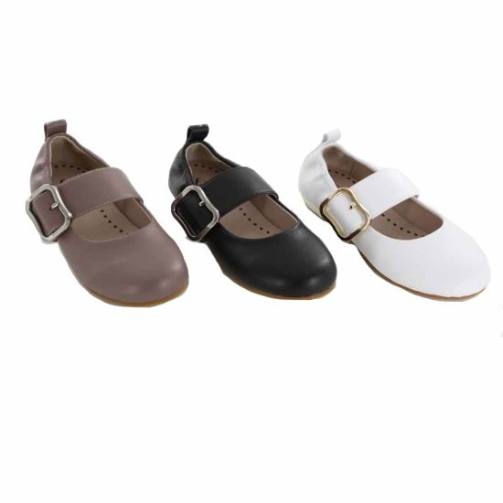 Leisure Small Heels Kid Performance Dress Shoes pictures & photos