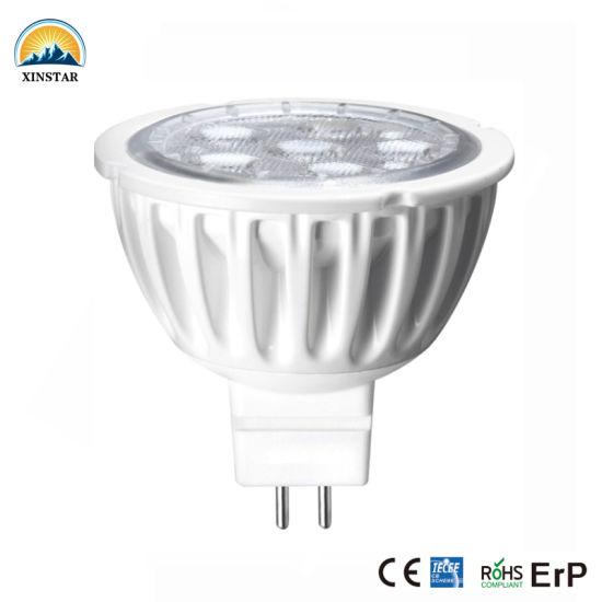 Most Popular 50/60Hz AC165-265V/12V Home Depot LED Spotlight Bulb MR16 From China