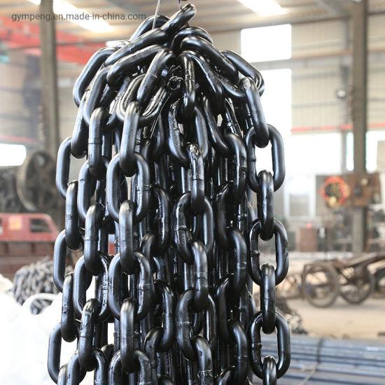 Hot DIP Galvanized 12.5-80mm Marine Anchor Chain