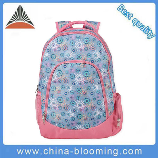 e3535bd597 Lovely Floral Pattern Kid Girls Waterproof Polyester School Bag. Get Latest  Price