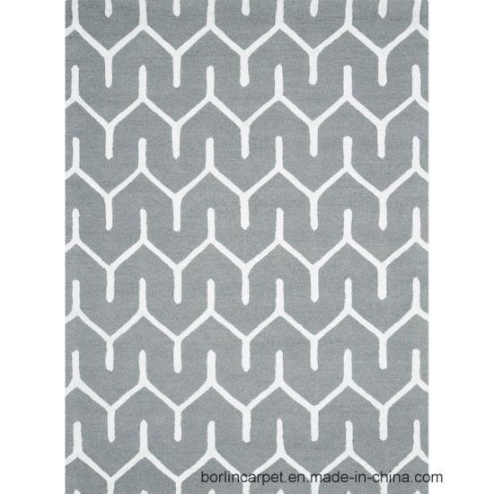 China Good Sale Design Hollywood Carpet Grey Color Floor