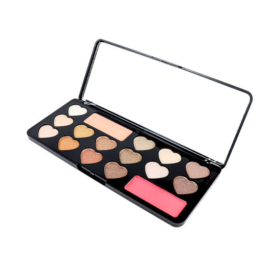 Best Selling 10 Color Glitter Matte Mixed Eye Shadow Palette Private Label pictures & photos